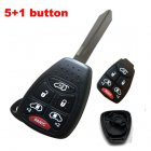 Blank Shell for Chrysler,Dodge,Jeep Remote Combo Key 6 Button