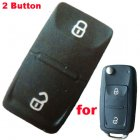 Push Button Rubber Pad For Volkswagen (VW) Tiguan Polo 2010 New Flip Remote Keys 2 Button