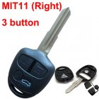 Blank Shell for Mitsubishi Lancer EX Remote Key 3 Button (MIT11 Right)