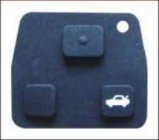 Remote key pad rubber 3 button for Toyota