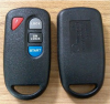 3+1 Button Smart Remote for Ford