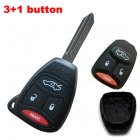 Blank Shell for Chrysler,Dodge,Jeep Remote Key 4 Button (Trunk,Panic,Big)
