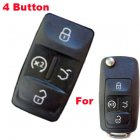 Push Button Rubber Pad For Volkswagen (VW) 2010 New Flip Remote Keys 4 Button