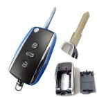 Auto Flip Key Shell for Bentley Cover Remote Transmitter 3 Button