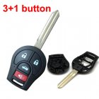 Blank Shell for Nissan Sunny March Remote Key 4 Button