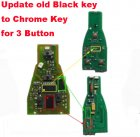Electronic Board for update Mercedes-Benz Black Smart Remote to Chrome Key (3 Button)