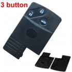 Blank Shell for Mazda 2004-2009 M5, M6 Smart Key Card 3 Button