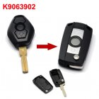 Flip Key Shell Modified for BMW Diamond Remote (3 Button HU58)