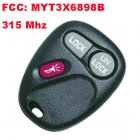 Remote Transmitter for Chevrolet Trailblazer (315MHz,FCC:MYT3X6898B,2+1 Button)