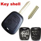 Blank Shell for Peugeot,Citroen Remote Key 2 Button (SX9)