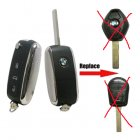 New Style Car Keys Folding Switchblade Key For Replace Old BMW EWS Original Remote