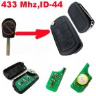Flip Remote Key Modified for Landrover (433Mhz,ID44,3 Button)