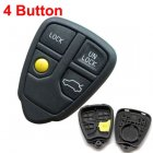 Auto Key Shell for Volvo V70 V90 C70 Cover Remote Transmitter 4 Button