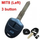 Blank Shell for Mitsubishi Lancer EX Remote Key 3 Button (MIT8 Left)