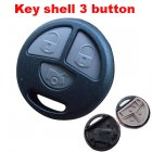 Auto Key Shell for Toyota Cover Remote Transmitter 3 Button