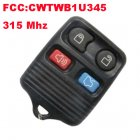 Remote Transmitter for Ford (315Mhz,FCC:CWTWB1U345,4 Button)
