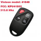 Remote Transmitter for 2003-2005 Mazda RX8 (4 Button,313.8Mhz,41848)