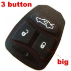 Rubber Pad for Chrysler Dodge Jeep Integrated Remote Key 3 button (Big)