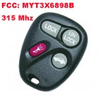 Remote Transmitter for Chevrolet Trailblazer (315MHz,FCC:MYT3X6898B,3+1 Button)