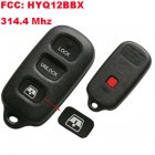 Remote Transmitter for Toyota Sequoia 314.4 MHz (4 Button,HYQ12BBX)
