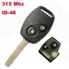 Remote Key for Euro Honda 2003-2007 CRV 2 Button (315Mhz,ID48)