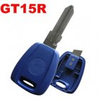 Blue Blank Shell for Fiat BRAVA Transponder Key (GT15R)