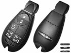 Smart Remote Key for Chrysler,Dodge,Jeep Euro models 5 Button (433Mhz,Start+2 Doors)