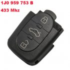 Remote Transmitter for Volkswagen 3 Button (433Mhz,1J0 959 753 B)