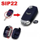 Flip Key Shell Modified for Fiat Remote Key Combo 1 Button (Blue,SIP22)