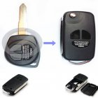 Flip Key Shell Modified for Suzuki SX4 Swift 2 Button with HU133R blade