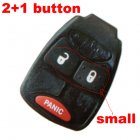 Rubber Pad for Chrysler Dodge Jeep Integrated Remote Key 2+1 button (Small)