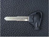 Black Folding Magnetic Key Blank with Left Blade for Yamaha Motorcycles