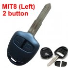 Blank Shell for Mitsubishi Grandy Remote Key 2 Button (MIT8 Left)