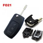Blank Shell for Ford Mondeo Flip Key 3 Button (FO21)