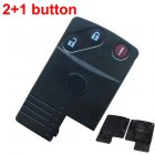 Blank Shell for Mazda 2004-2009 M5, M6 Smart Key Card 2+1 Button