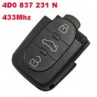 Remote Transmitter Trunk For Audi 1998-2005 A6 (433Mhz,4D0 837 231 N)