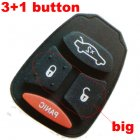 Rubber Pad for Chrysler Dodge Jeep Integrated Remote Key 4 button (Big)