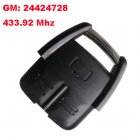 Remote Transmitter for Vauxhall Opel Omega 3 Button (433.92Mhz,GM:24424728)