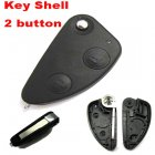 Auto Flip Key Shell for ALFA ROMEO 147,156,GT,JTD,TS Cover Remote Transmitter 2 Button