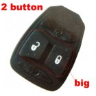 Rubber Pad for Chrysler Dodge Jeep Integrated Remote Key 2 button (Big)
