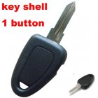 Car Key Cover shell for Fiat Remote Transmitter 1 Button On Side