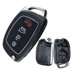 Blank Shell for Hyundai I40 Flip Key 3+1 Button