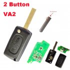 Keyless Remote Transmitter Flip Key Fob for 2005-2011 Peugeot 307,Citroen C4