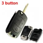 Blank Shell for Vauxhall Opel Astra H Flip Key 3 Button