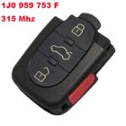 Remote Transmitter for Volkswagen 4 Button (315Mhz,1J0 959 753 F)