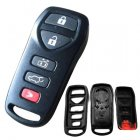 Blank Shell for Nissan Quest Remote Transmitter 5 Button