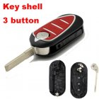 Auto Flip Key Shell for Alfa Remeo Mito,Giulietta,159,GTA Cover Remote Transmitter 3 Button