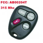 Remote Transmitter for Chevrolet Venture (315MHz,AB00204T,3+1 Button)