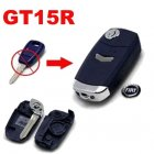 Flip Key Shell Modified for Fiat Remote Key Combo 1 Button (Blue,GT15R)