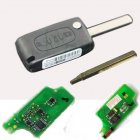 Flip Remote Key Combo for Peugeot,Citroen 0536 Model (433Mhz,HU83,3 Button)
